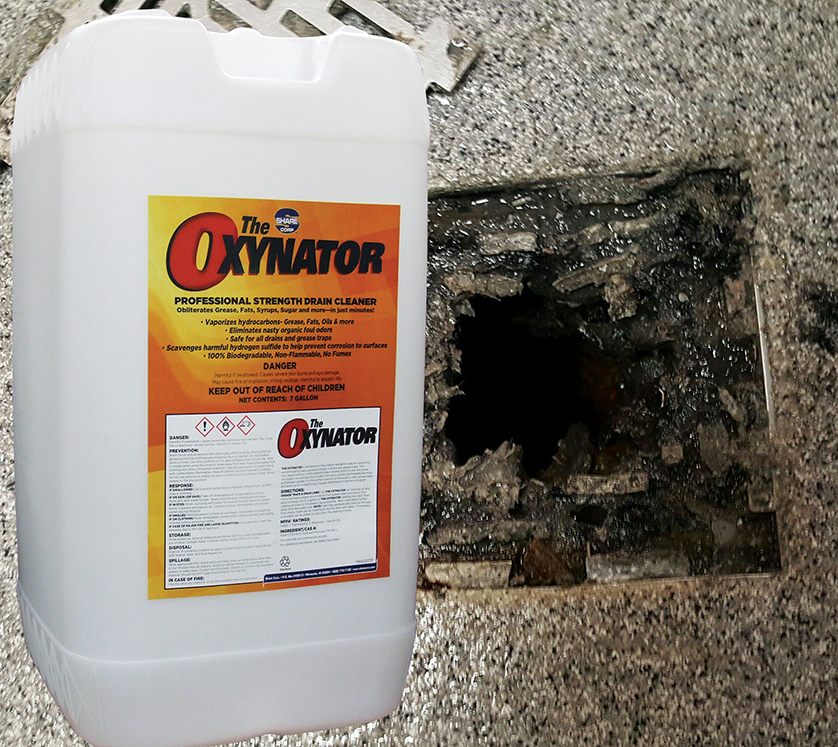 the oxynator strength drain cleaner
